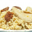 Rice with sausage and chicken - Lizenzfreies Foto