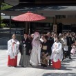 Stock Photo: Celebration of traditional Japanese wedding