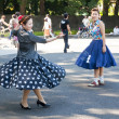 Japanese dancing in Yoyogi Park, Japan — Stock Photo #10153057
