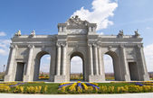 Puerta de Alcala in scale in Europa Park,Torrejon de Ardoz, Madrid — Stock Photo