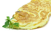 French omelet — Stock Photo