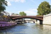 River Seine, Paris — Stock Photo