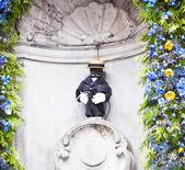 Manneken Pis in Brussels — Stock Photo