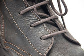 Boots closeup — Stock Photo