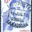 Stamp Collection Spain — Stock Photo