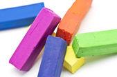 Begagnade pasteller — Stockfoto