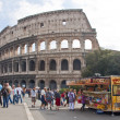 Colosseum in Rome,Italy — Stock Photo