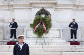 Victor Emmanuel II Monument, Rome — Stock Photo
