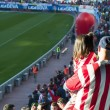 Постер, плакат: Atletico de Madrid fans at the Vicente Calderon Madrid Spain