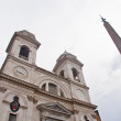 Stock Photo: Church of Trinitdei Monti in Rome, Italy