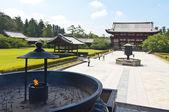 Incense in Todai-ji Temple of Nara,Japan — Stock Photo