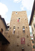The House Museum of Dante in Florence — Stock Photo