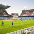 Vicente Calderon soccer stadium - Stock Photo