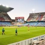 ������, ������: Vicente Calderon soccer stadium