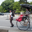 Rickshaw, Japanese transport — Stock Photo