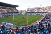 Vicente Calderon soccer stadium, Madrid, Spain — Stock Photo