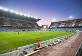 Vicente Calderon soccer stadium — Stock Photo