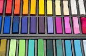 Pastelli usati — Foto Stock