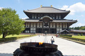 Templo de todai-ji de nara, japón — Foto de Stock