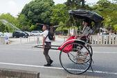 Rickshaw, Japanese transport — Stock Photo