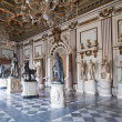 Capitoline Museums Rome, Italy - Stock Photo