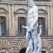 The fountain of Neptune in Florence — Stock Photo #10373937