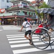 Rickshaw, Japanese transport — Stock Photo #10375147