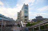 Fuji TV Building in Tokyo — Stock Photo
