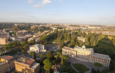View of the residence of the Vatican, Rome — Stock Photo