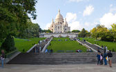 Sacred Heart Basilica of Montmartre — Stock Photo