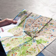 Stock Photo: Map of Rome
