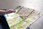 Map of Rome — Stock Photo