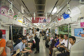 Tokyo subway — Stockfoto