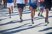 Bir yarış çalıştırmak — Stok fotoğraf