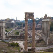 Roman Forum in Rome,Italy - Stock Photo
