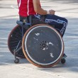 Stock Photo: Wheelchair
