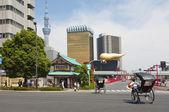 Asahi biru kabushiki bina kurdum — Stok fotoğraf