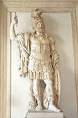 Sculpture of a Roman warrior — Stock Photo