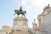Victor emmanuel ii monument in piazza venezia, rom — Stockfoto