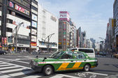 Streets of Ueno district — Stock Photo