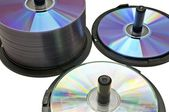 Lots of CDs — Stock Photo