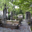 Cemetery in Paris — Stock Photo
