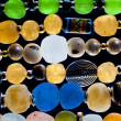 Glass beads — Stockfoto