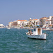 Samos city — Stock Photo