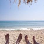 Beach on Samos — Stock Photo