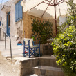 Street on Samos - Stock Photo