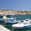 Fishing boats on Samos — Stockfoto