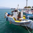 Fishing boats on Samos — 图库照片