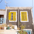 maison sur samos — Photo