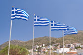 Drapeau grec — Photo